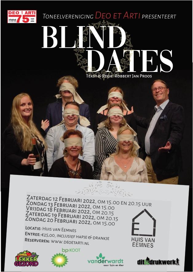 Blind Dates flyer